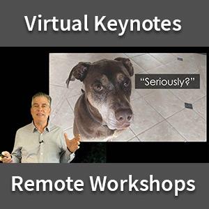 Virtual Keynotes & Remote Workshops by Roger Dooley